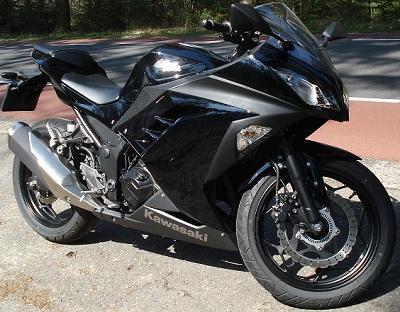 Test Kawasaki Ninja 300 A2 Rijbewijs