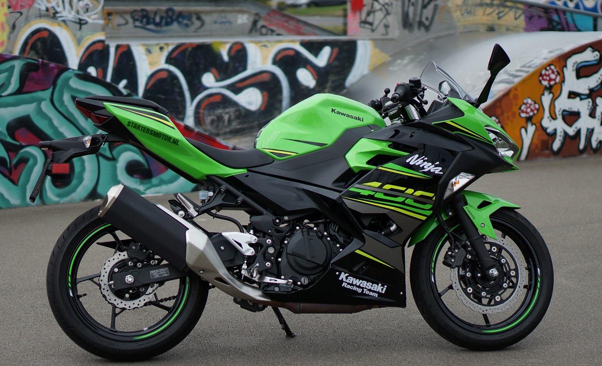 Test Kawasaki Ninja 400 35kw A2 Rijbewijs